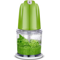 200W Powerful Mini Home Multifunctional Electric Meat Fruit Vegetable Mixer Blender Grinder Mincer With Turbo Function