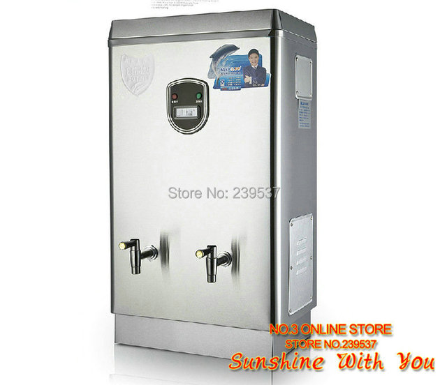 220V 40L/H Commercial water boiler Automatic stainless steel 304 ...