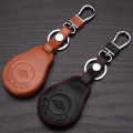 Leather car key case Fob cover For BMW mini cooper car key holder shell key rings keychain wallet/bag