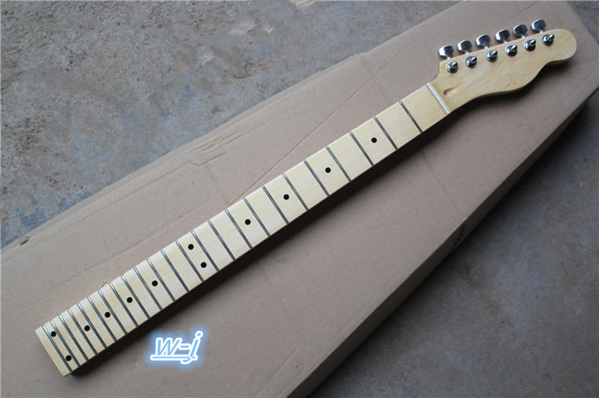 electric guitar neck maple 24 fret for tele style and tuners parts in guitar parts accessories. Black Bedroom Furniture Sets. Home Design Ideas
