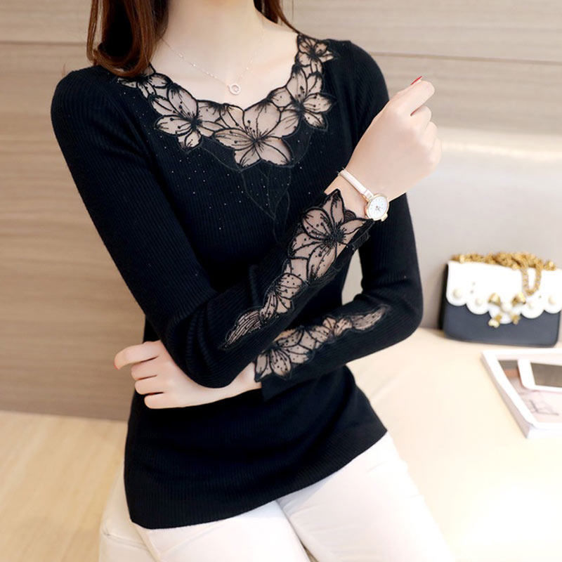 New Autumn Winter Sweaters Women Hot Sale Embroide