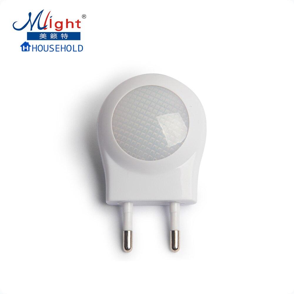 Automatic led energy saving night lamp - Eu Plug Light Sensor Smart Automatic Energy Saving Nightlight Led Wall Night Light Lamp For Children