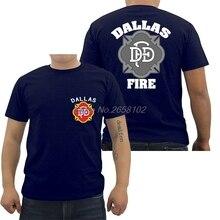 Hot Sale Men Cotton T-shirt Fashion Dallas Cowboy Firefighter Fire Rescue  Service Navy T · 9 Colors Available 138afe830