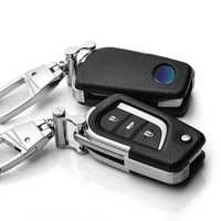 LUNASBORE 2017 Nieuwe Auto Remote Key Case Shell Cover Auto Styling Key Cover Toyota RAV4 COROLLA highlander VIOS Vouwen sleutel