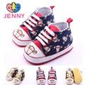 ДЖЕННИ дети девочки и мальчики впервые уокер 0-1 лет новорожденный ребенок мультфильм тигр печатных мягкой резины подошвы обуви