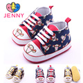 JENNY kids baby girls and boys first walker 0-1 years infant newborn child cartoon tiger printed soft rubber soles shoes