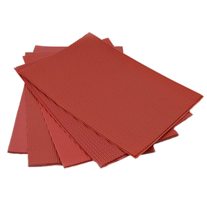 Image 5 - new 210x300mm architecture model matrials PVC tile roofs plastic scale 1/25 100 model pvc red sheet