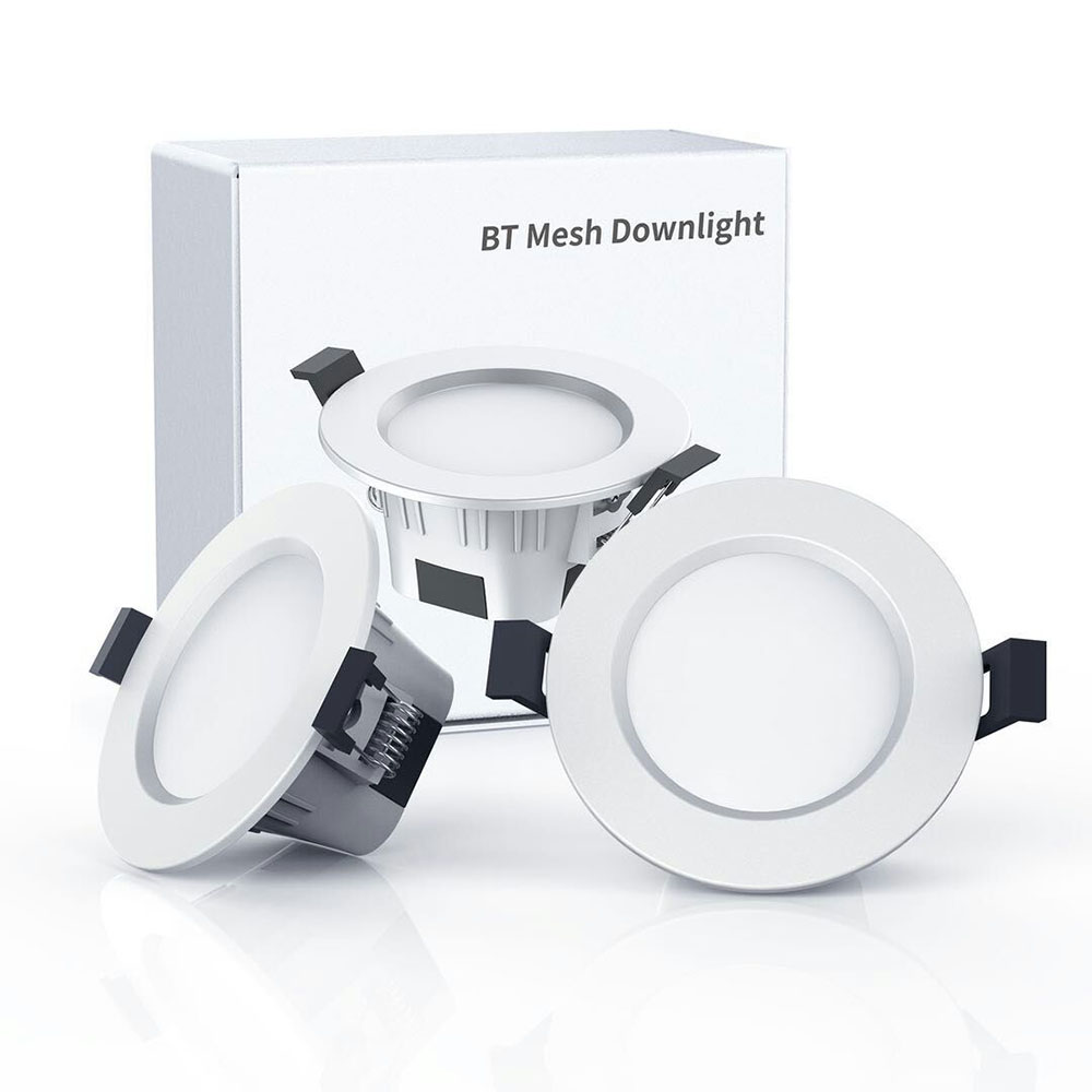Image 2 - Smart Bulb Downlight Bluetooth LED Magic RGBW Home Lighting Lamp Color Change Dimmable 100 264VAC Apply To IOS /Android-in Smart Remote Control from Consumer Electronics