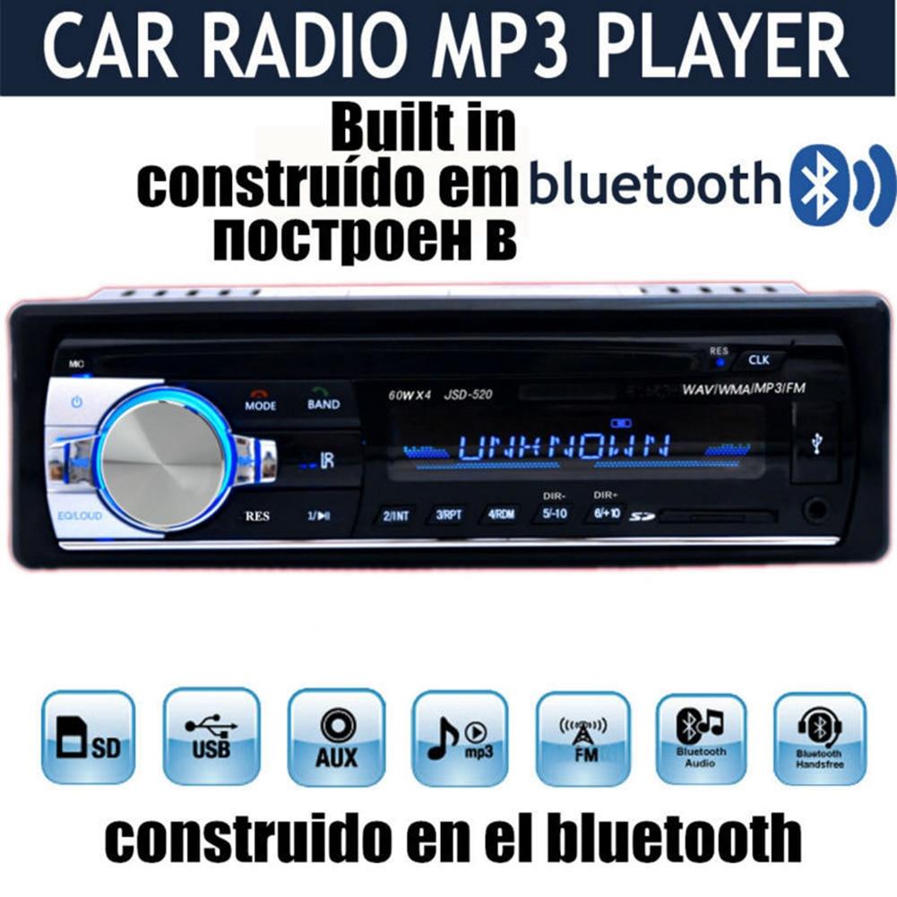 Bluetooth カーラジオ Wma MP3 2