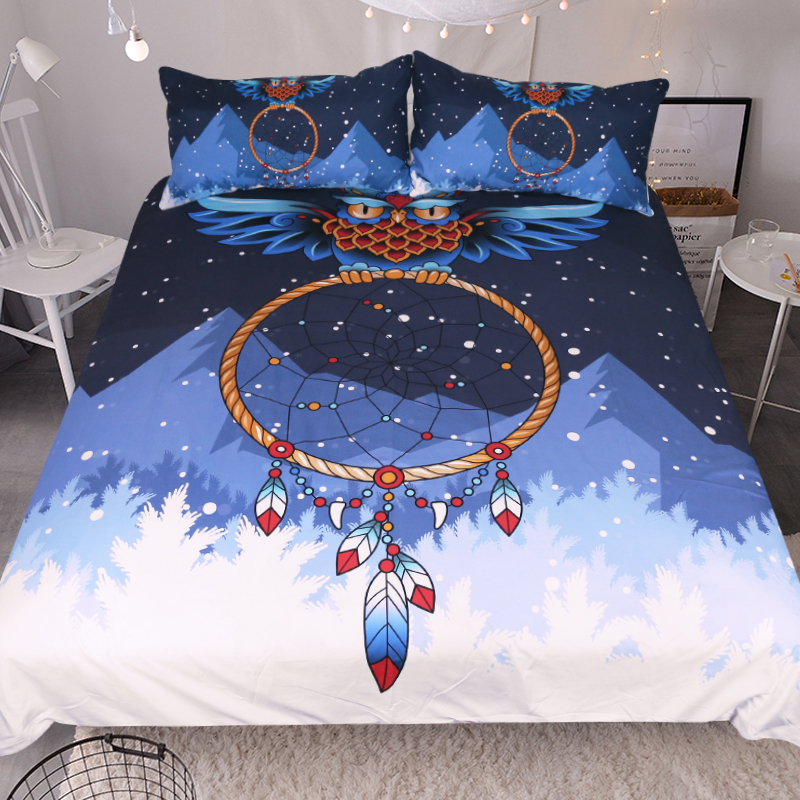 beautiful white queen size beds from us stores | Custom Made Bohemian Dreamcatcher Bedding Set Queen Size ...