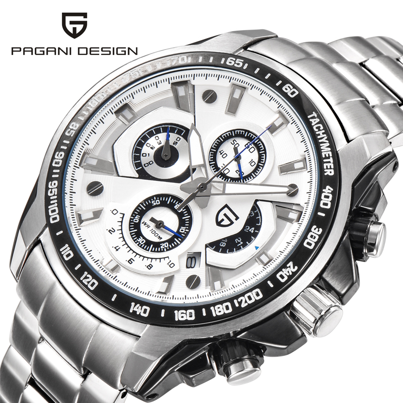Original Top Luxury Brand PAGANI DESIGN Watches Men Military Sports Watch Dive 30m Multifunction Quartz Wristwatch reloj hombre грузовик немецкий опель блиц 1 100