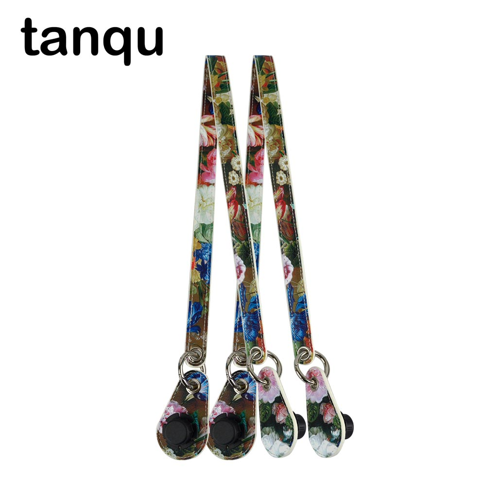 Tanqu Concise Ring Leather Belt Handle With Drops For Classic Mini Obag  Huntfun Square Bag  City Chic Women Handbag O Bag