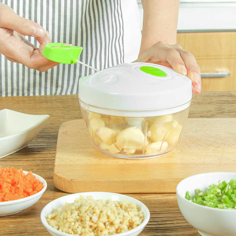 Multifuncional Moedor de Carne Manual de Casa Cozinha Ferramenta de Processadores de Alimentos Chop Chopper Mincer Mixer Blender Fruit Vegetable Nut Ervas