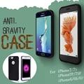 Sujeira à prova de choque à prova d' água anti-gravidade sucção adsorção superfície case para iphone 7 plus 6 6 s mais 5g de telefone multifuncional caso