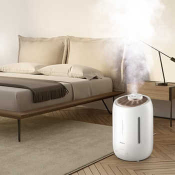 Upgraded Deerma Air Humidifier F600 smart Touch-Sensitive Screen Timing Silent Household 5L Large Capacity F600 Essential oil