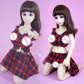 100cm NEW Top quality lifelike silicone sex dolls skeleton, japanese love doll, full silicone real love doll