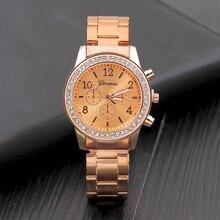 Rose Gold Women Watches Luxury Diamond Watch Women Fashion 2019 Relogio Feminino Chronograph Ladies Watches Quartz Wristwatches все цены