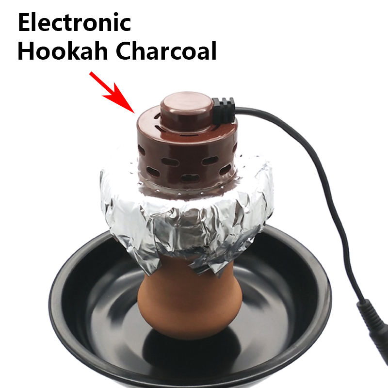 Global First Electronic Shisha Charcoal Multivolt 100 240V For Hookah Sheesha Chicha Narguile Tobacco Bowl Accessories