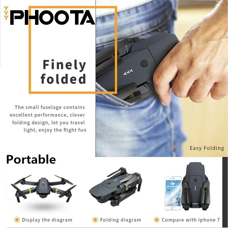 WIFI FPV With Wide Angle HD Camera High Hold Mode Foldable Arm RC Quadcopter Drone With 720P 1080 HD in Camera Drones from Consumer Electronics