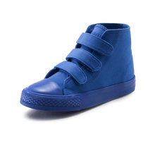 Children's shoes Boys and Girls High-top Casual Shoes  Spring Autumn Candy color Canvas Shoes Children's  Board Shoes