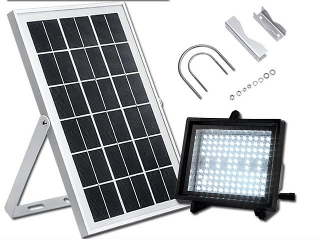 W led illuminazione stradale lampada solare pannello solare