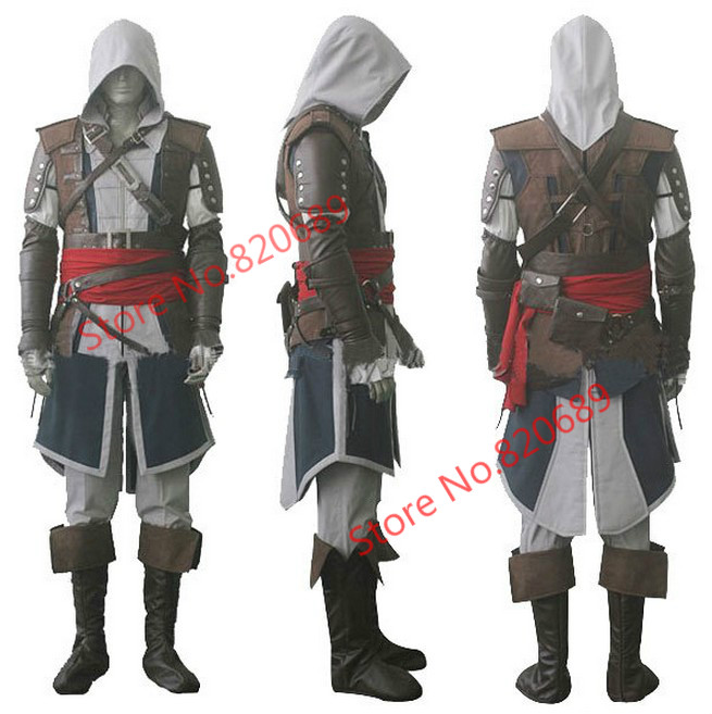 Express Shipping Assassin IV 4 Creed Black Flag Edward ...