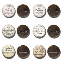Famous Quote Shakespeare Mark Twain Oscar Wilde Funny Quote Brooch Glass Cabochon Dome Copper Brooch Pin Women Men Accessories twain m is shakespeare dead