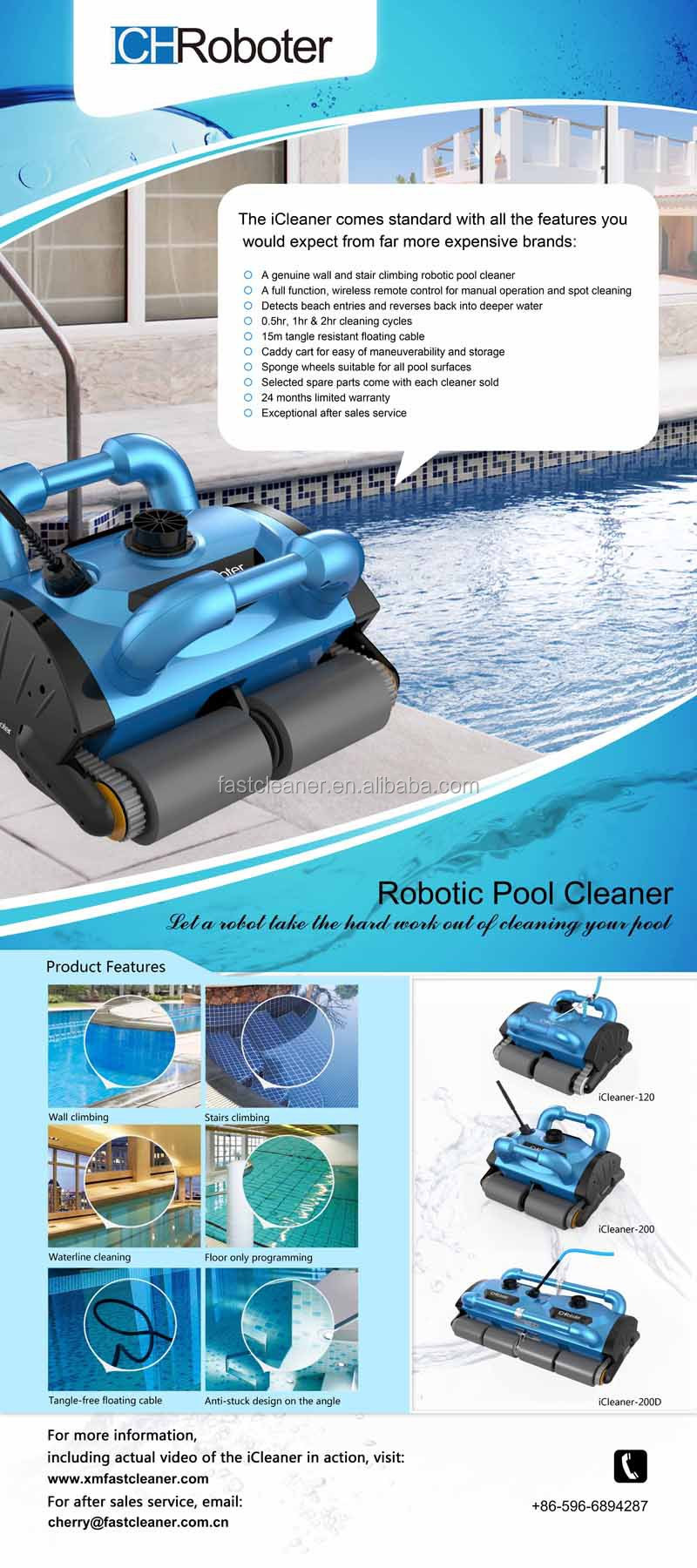 robot swimming pool cleaner pool vacuum cleaner automatic robot product description