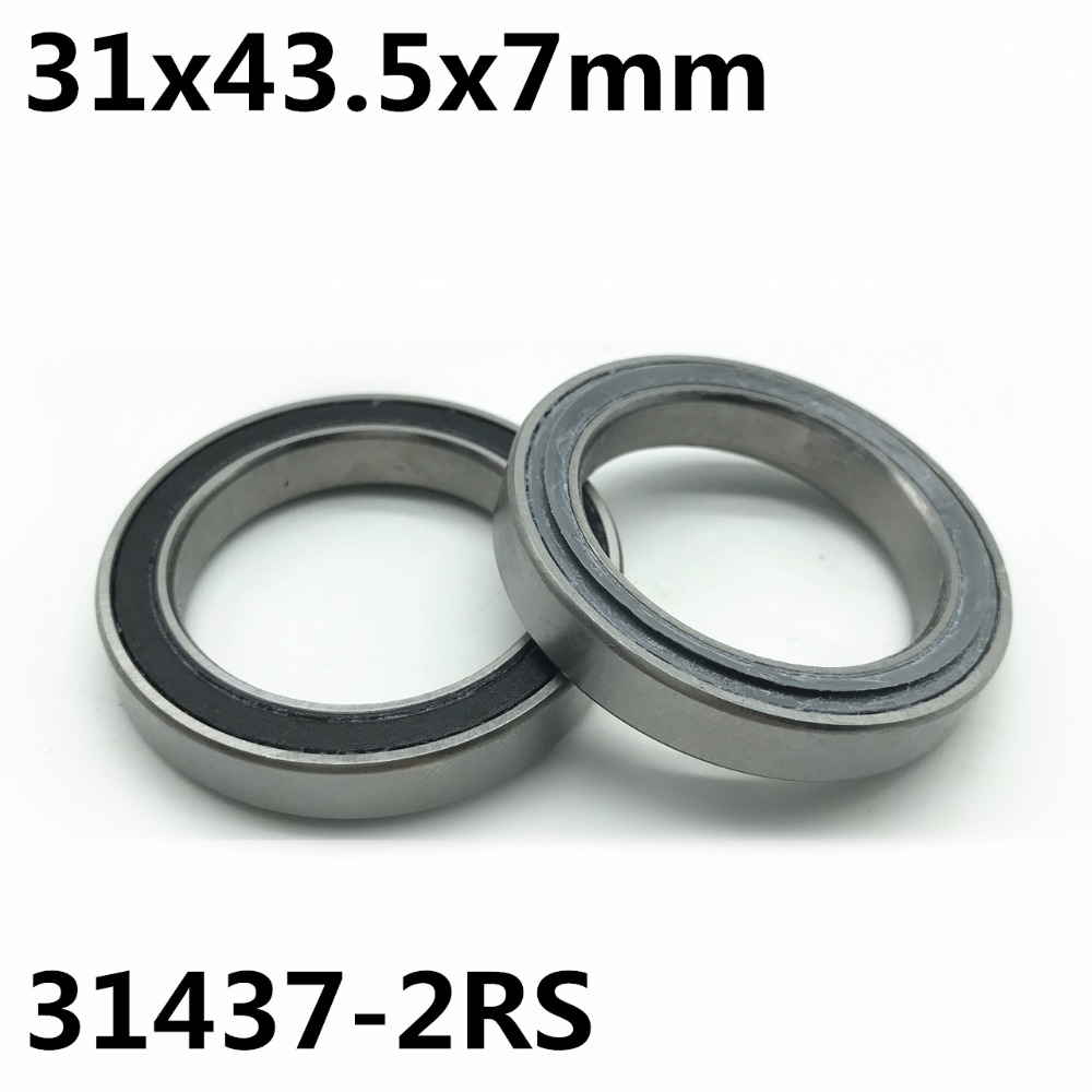 1Pcs 31437-2RS 31x43.5x7 Mm Headset Replacement Bearing Repair Bearing Bicycle Bearing