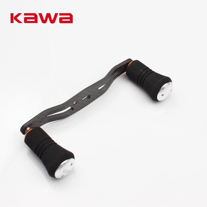 KAWA 2017 New Model High Quality Strong Carbon Fiber Fishing Reel Handle for Baitcasting Eva Knob