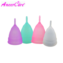 20pcs menstrual cup lady period cup Medical Grade Silicone  Copo Menstrual de Silicone Medica Reusable Menstrual Cup collector women reusable menstrual cup soft medical silicone lady discharge valve menstrual cups leak safety month period cup vagina care