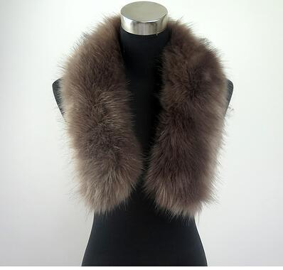 Long Faux Fur Collar Scarf | Neck Scarves | Up to 60% Off Now