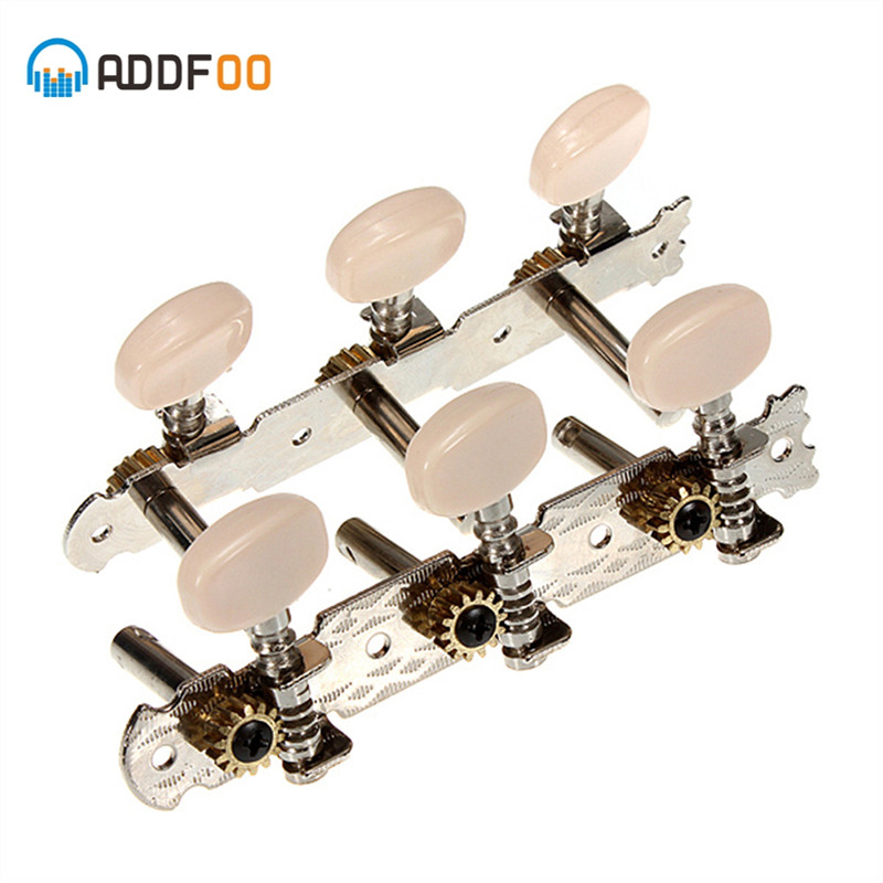 ADDFOO 2pcs Left And Right Acoustic Classic Guitar Set Tuning Pegs Keys Machine Head Tuners For Guitar Parts & Accessories