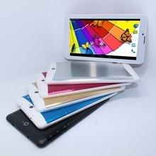 7 אינץ MP4 3 גרם עבור Tablet טלפון 1024x600 IPS 3 גרם WCDMA 2 גרם GSM WIFI AGPS bluetooth מצלמות