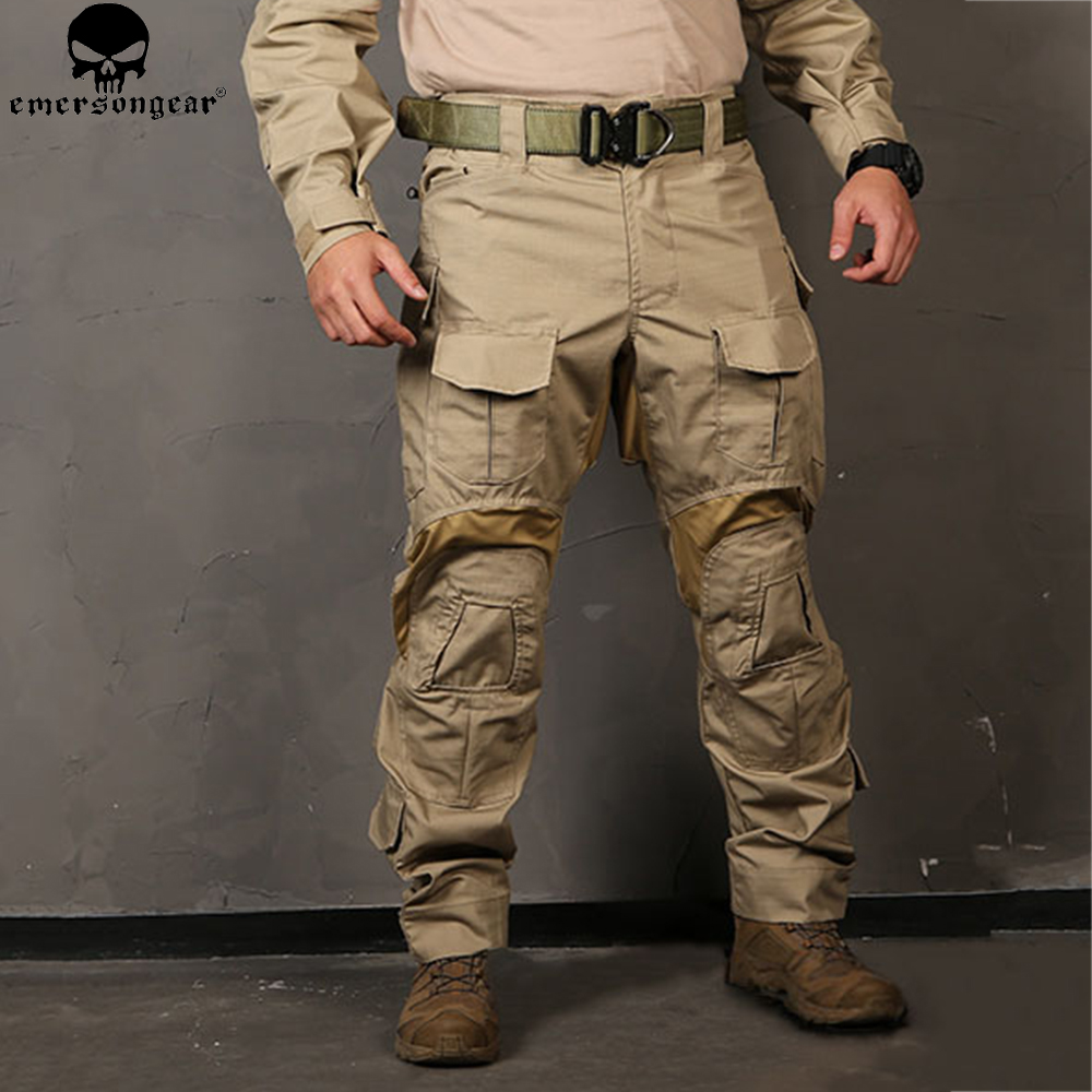 EMERSONGEAR <font><b>G3</b></font> New <font><b>Combat</b></font> <font><b>Pants</b></font> Hunting Military Army Trousers Tactical <font><b>Combat</b></font> <font><b>Pants</b></font> with Knee Pads emerson EM9351 image