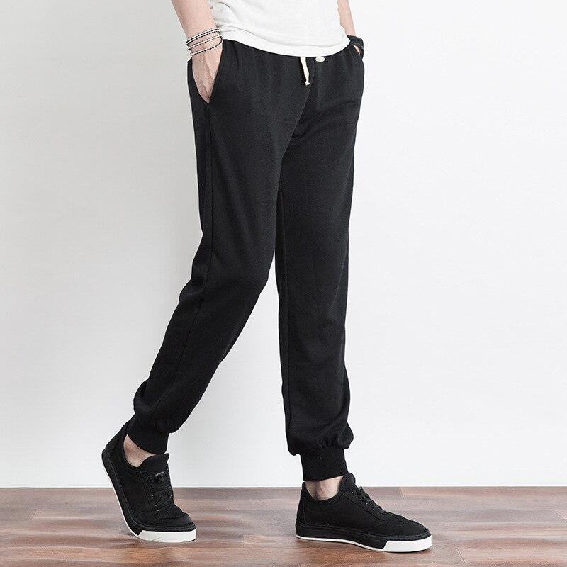 STAHUNTAR Casual Mens Pants Cotton Men Joggers Sweatpants Plus Size Fashion