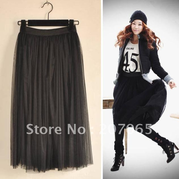 Free shipping one layer lace women's skirts  10colour