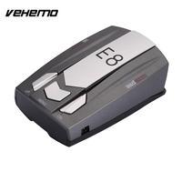 VEHEMO Car E8 Radar Detector 360 Degree 16 Band Control Speed Safety Anti Police Scanning Advanced