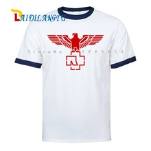 Raglan sleeves Hip Hop T-Shirts Rock And Roll Punk Men Raglan sleeves T-shirt Summer Tops Tees Fashion shirts(China)