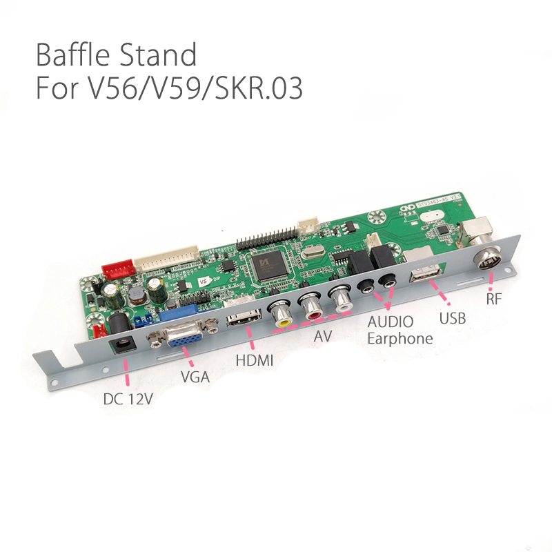 V29 V56 V59 SKR.03 DJ2 TV Driver Board Baffle Iron Stand Fixed Support Free Shipping ...