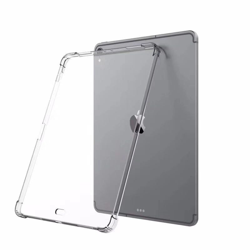Case For Ipad Pro 11 Pro 12.9 Transparent Soft Silicone Case For Ipad 9.7 Ultra Thin TPU Protective Shell