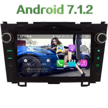 "8"" Android 7.1.2 Quad Core 2GB RAM DAB+ BT Multimedia Car DVD Player Radio Stereo GPS Navi 4G WIFI For Honda CR-V CRV 2006-2011"