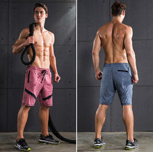 2017 Top Quality Men  Brand Gyms Fitness Shorts Men Professional Bodybuilding Short Pants Gasp Male