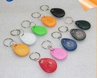 100pcs T5577 EM4305 Copy Rewritable Writable Rewrite Duplicate RFID Tag Can Copy EM4100 125khz card Proximity Token Keyfobs