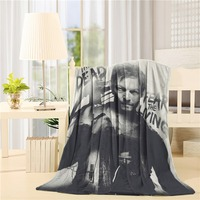 Popular Daryl Dixon Print es Sold By Too Amazing Flannel Throw Blanket Lightweight Cozy Bed Sofa Blankets Super Soft Fabric