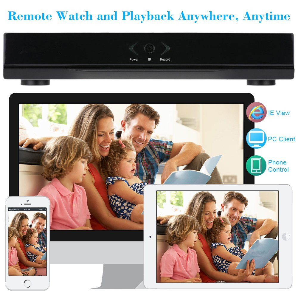 4 Channels H.264 Network Motion Detection 16CH DVR CCTV Surveillance Security System Digital Video Recorder 5-in-1 AHD DVR 16 ch 1080n cctv dvr recorder h 264 hdmi network digital video recorder suit anolg ahd cctv camera for home security system