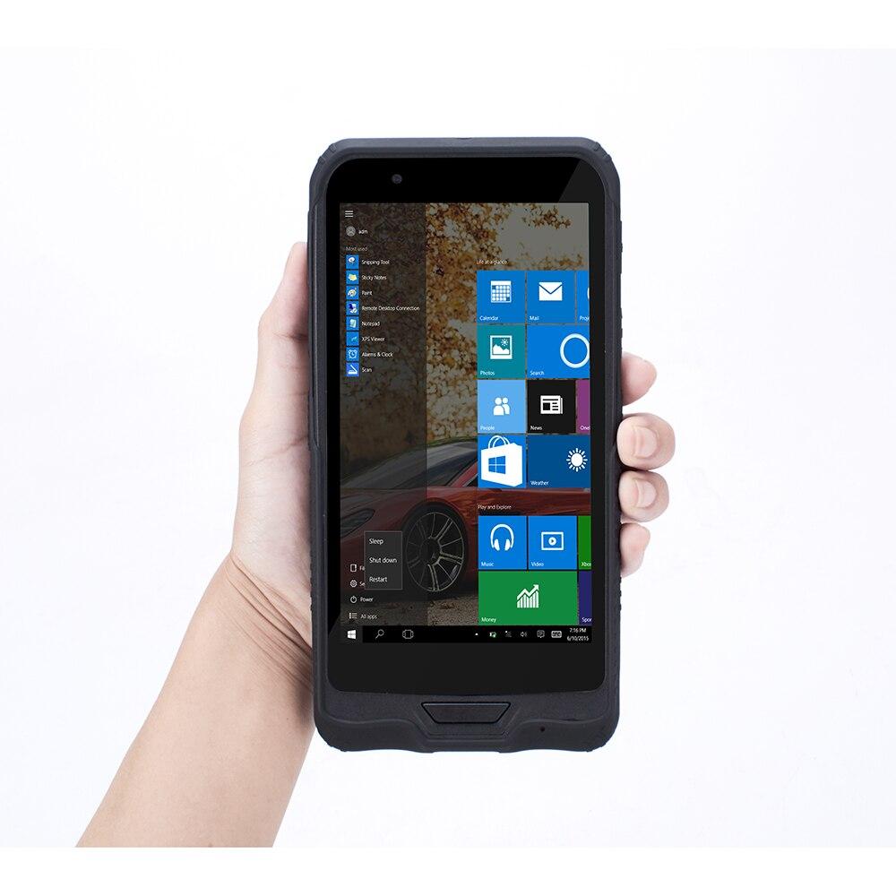 Бесплатная доставка Высокая производительность ручной 5,98 дюймовый КПК с NFC считыватель 1D 1D сканер штрих-кода Bluetooth Windows 10 Домашняя версия