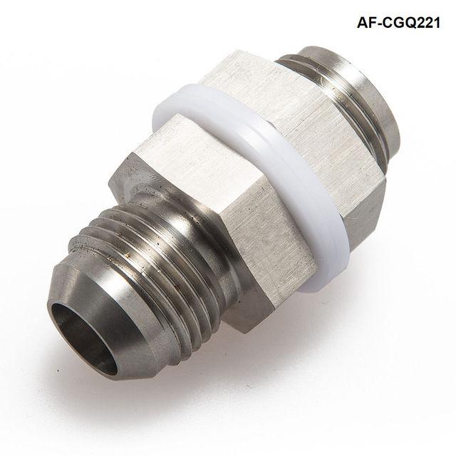 자동차 범용 터보 스틸 오일 팬 리턴 드레인 플러그 어댑터 마개 피팅 AN10 용접 AF-CGQ221