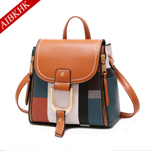Patchwork Contact Color Women Messenger Bags Crossbody Bag for 2019 Sac a Main