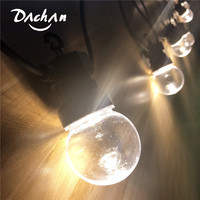 Nolvety! IP65 13M Waterproof 20 Globe Clear G50 Bulb Connectable Outdoor Festoon Party String Christmas Holiday Garland Light